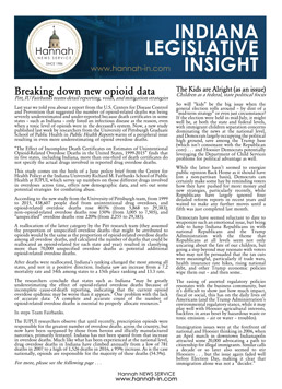 Indiana Legislative Insight Newsletter